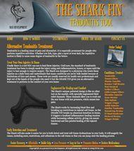 Shark Fin tendonitis treatment tool