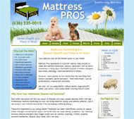 Mattress Pros custom website